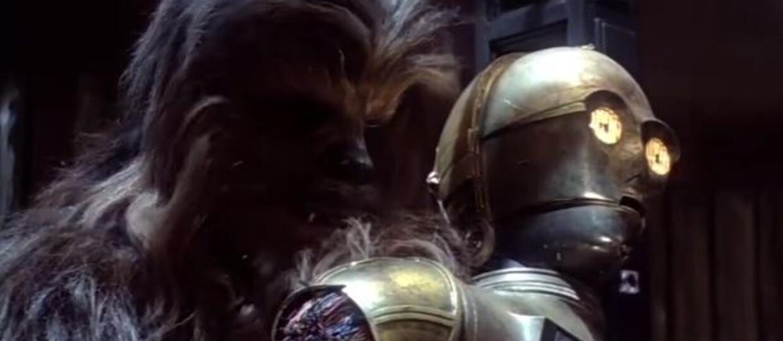 Star Wars, Chewbacca, c3-po