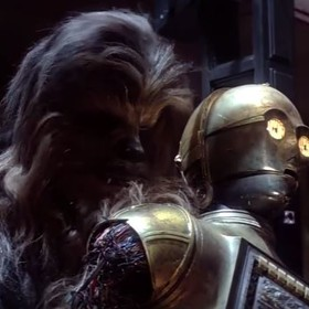 Star Wars, Chewbacca, c3-po