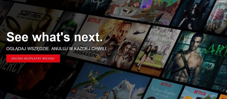 Netflix pozwala pobierać filmy i seriale