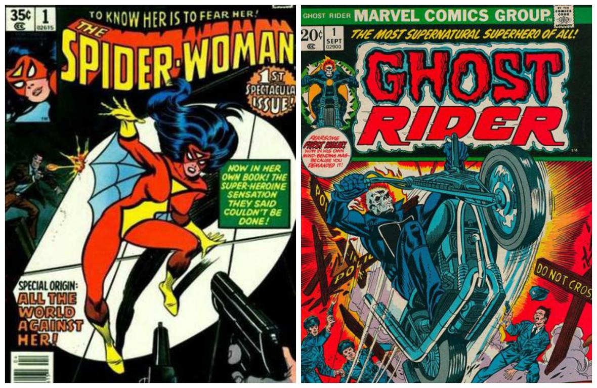 Nie żyją Marie Severin i Gary Friedrich - twórcy Spider-Woman i Ghost Ridera