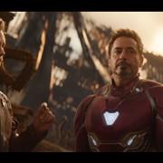 Chris Pratt jako Star-Lord i Robert Downey Jr jako Iron Man