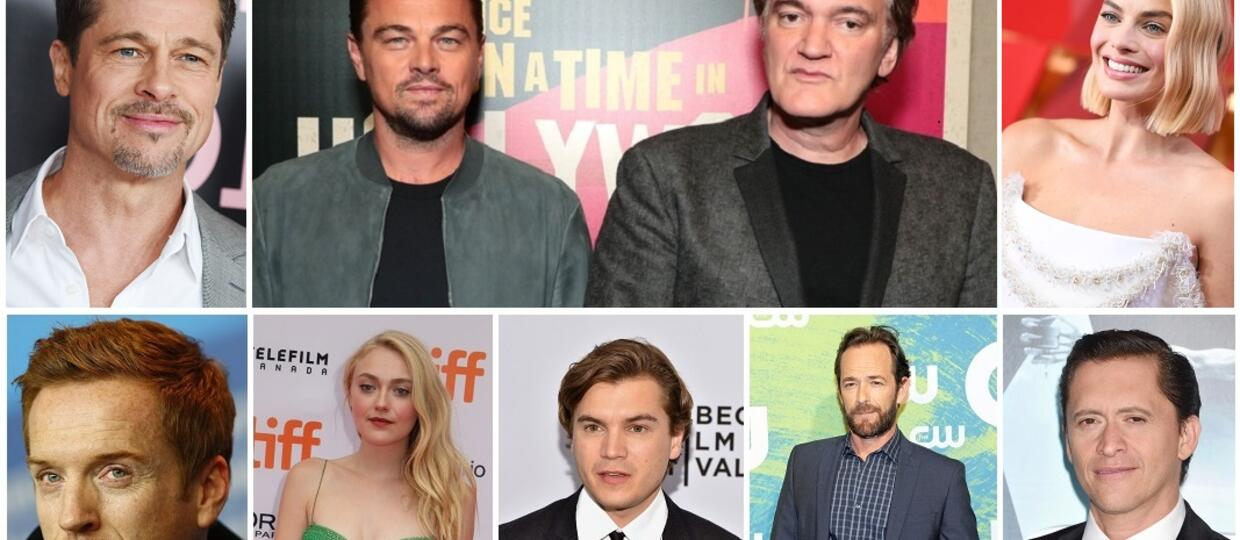 Quentin Tarantino i obsada Once Upon A Time in Hollywood