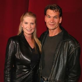 Patrick Swayze i żona
