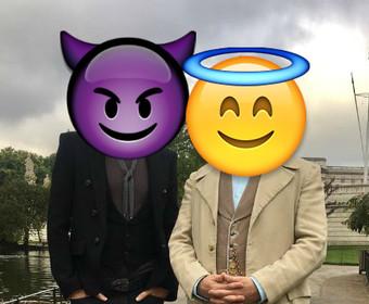 """Pierwsze zdjęcie głównych bohaterów serialu """"Dobry Omen"""""""