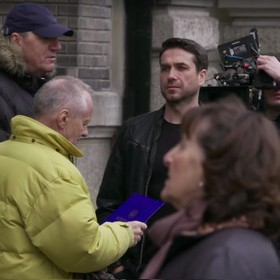 """Marcin Dorociński: """"Czasem nazywamy go Psy. Ostatni Pitbull"""". Zobacz zakulisowe wideo z planu nowego filmu Pasikowskiego"""