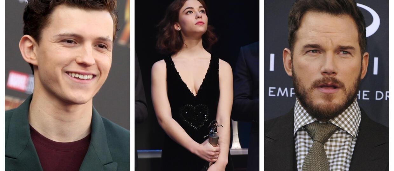 Tom Holland, Chris Pratt, Julia Louise-Dreyfus