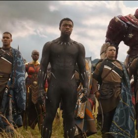 Black Panther w Avengers: Infinity War