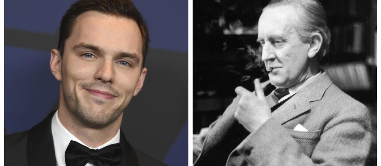 Nicholas Hoult i J.R.R. Tolkien