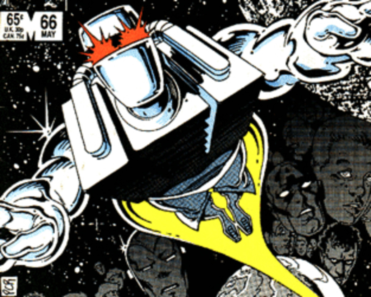 okładka komiksu Rom #66