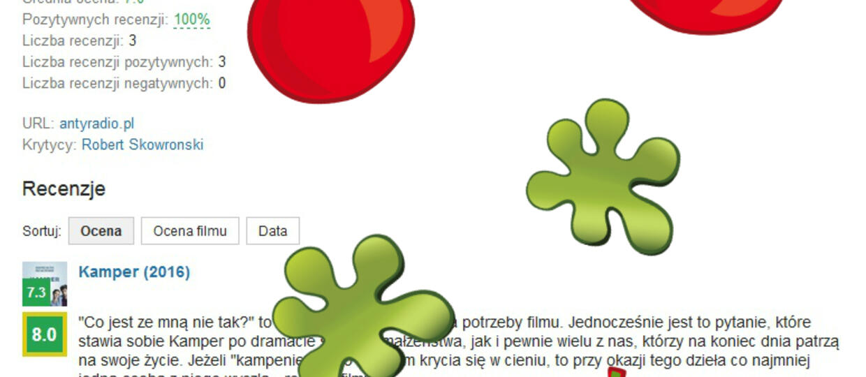 Powstał polski odpowiednik Rotten Tomatoes
