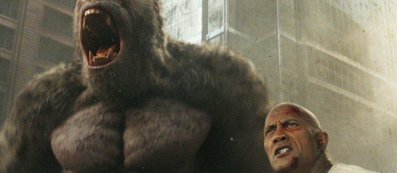 Dwayne Johnson w Rampage