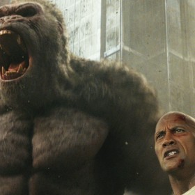 Dwayne Johnson w Rampage