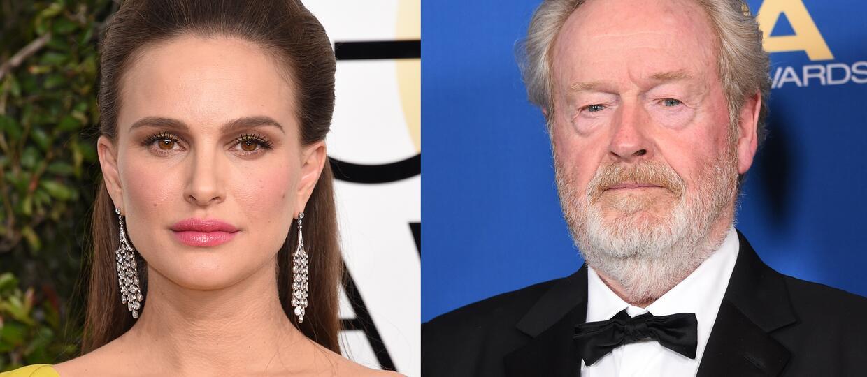 Ridley Scott porwie syna Natalie Portman