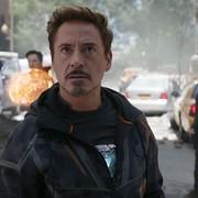 Robert Downey Junier jako Iron Man w Avangers Infinity War