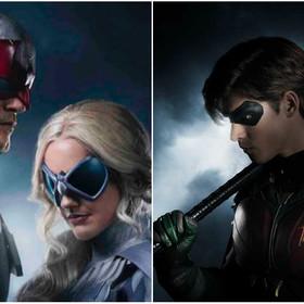 Hawk, Dove i Robin z serialu Titans