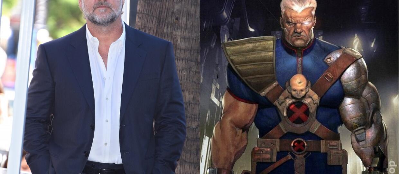 "Russell Crowe chce zagrać Cable'a w ""Deadpoolu 2"""