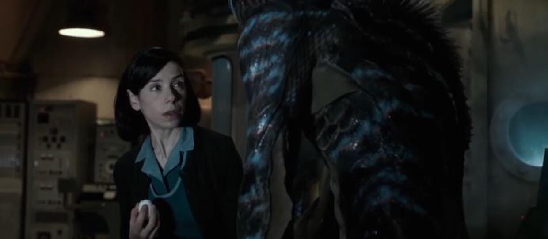 Scena seksu z rybim stworem w najnowszym filmie Guillermo del Toro