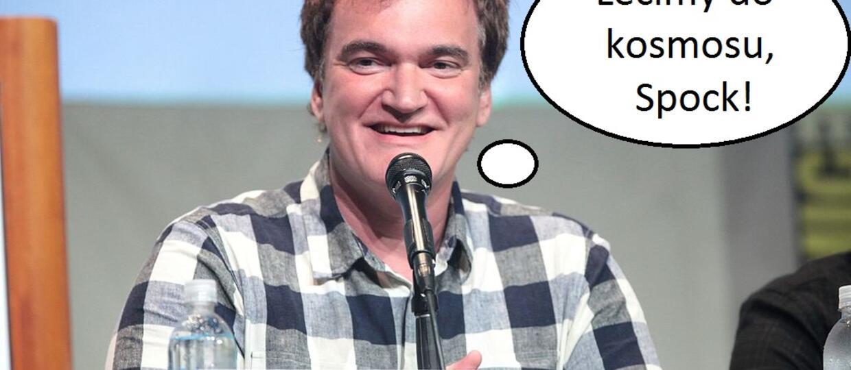 """""""Star Trek"""" w wersji Quentina Tarantino będzie tylko dla dorosłych"""