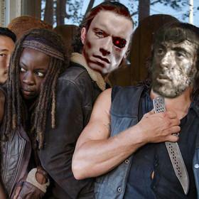"""""""The Walking Dead"""" 8. będzie jak filmy Schwarzeneggera i Stallone'a"""