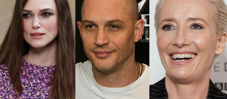 Keira Knightley, Tom Hardy, Emma Thompson