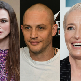 Keira Knightley, Tom Hardy, Emma Thompson
