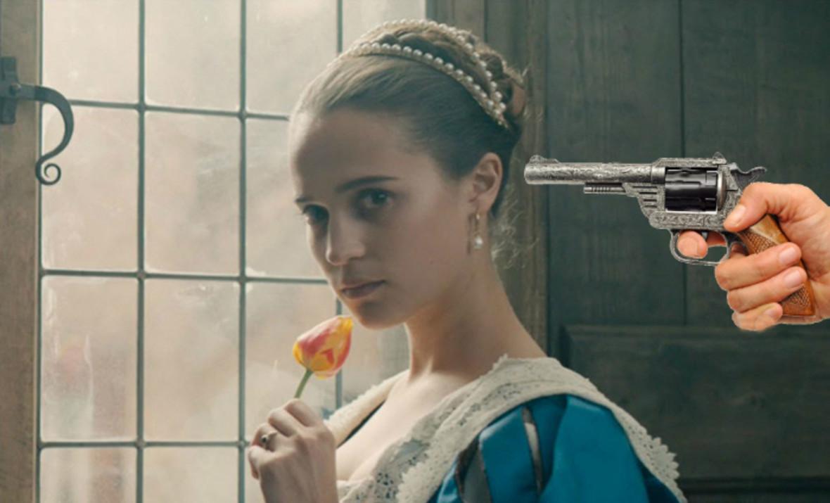 Alicia Vikander w Tulipanowej Gorączce