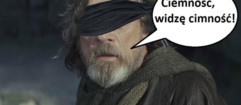 W nowej trylogii Luke Skywalker miał być niewidomy