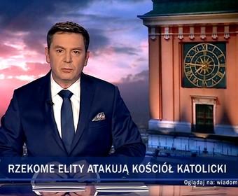 """Wiadomości TVP o """"Klerze"""