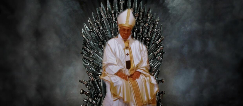 Gra o tron, papież Franciszek