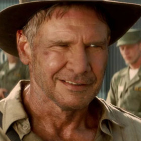 Harrison Ford jako Indiana Jones