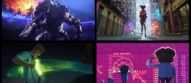 """Wilkołaki-żołnierze, śmietnikowe potwory i cyborgi-łowcy głów w nowej animacji Netfliksa. Oto """"Miłość, Śmierć i Roboty"""" Davida Finchera..."""