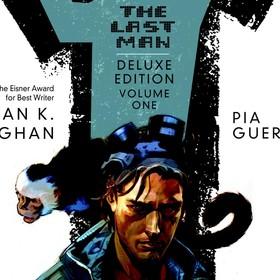 fragment okładki komiksu Y: Ostatni z mężczyzn