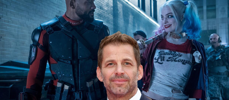 """Zack Snyder wyreżyserował scenę w """"Legionie samobójców"""""""