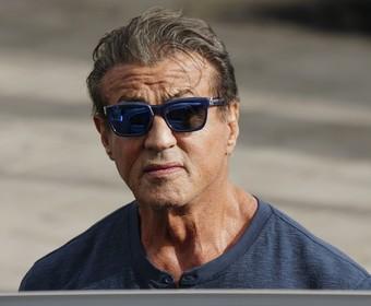 Sylvester Stallone na planie Rambo 5