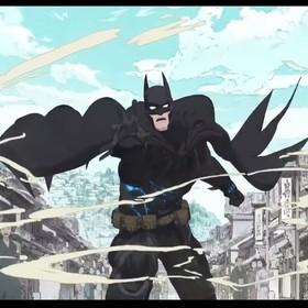 kadr z filmu Batman Ninja