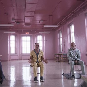 Samuel L. Jackson, James McAvoy, Bruce Willis (Glass)