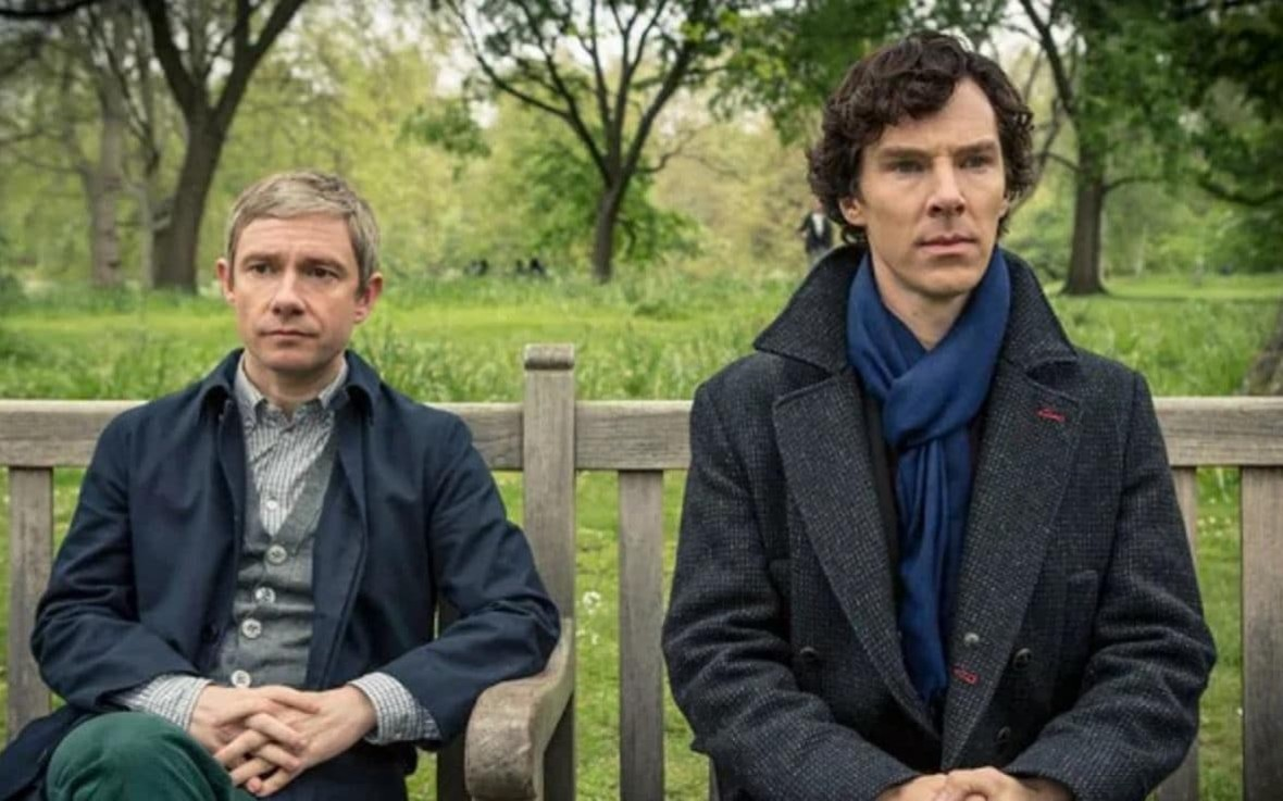 Sherlock (Benedict Cumberbatch) i Watson (Martin Freeman)