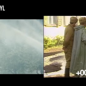 "Foto: kadr z wideo ""HBO's Chernobyl vs Reality - Footage Comparison"""