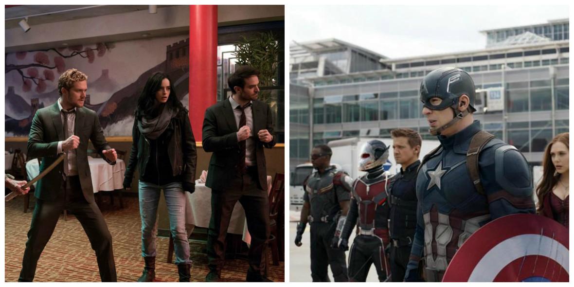 Defenders i Avengers