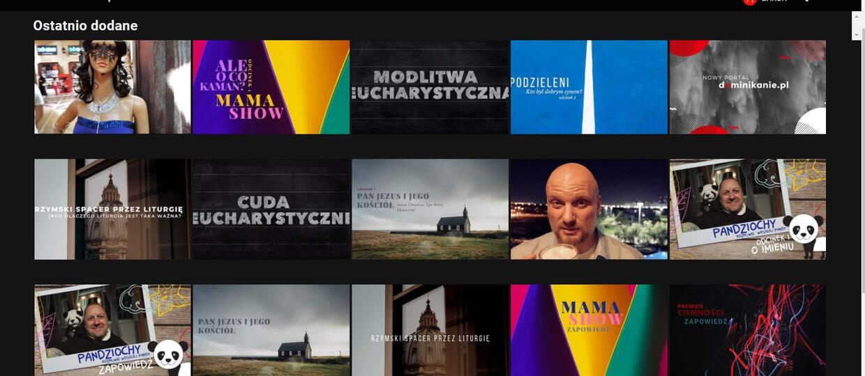 """Dominikanie.pl: wystartował """"katolicki Netflix"""". Co znajdziemy w ofercie portalu?"""