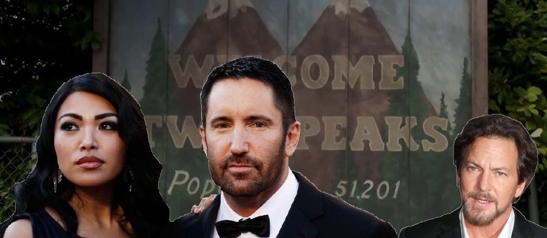 """Eddie Vedder i Trent Reznor w obsadzie """"Twin Peaks"""""""