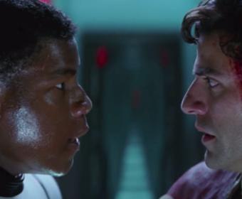 kadr z filmu Gwiezdne Wojny: Przebudzenie Mocy