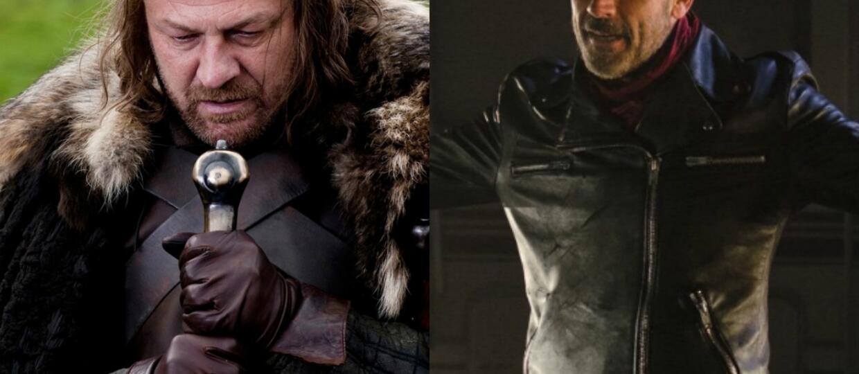 """""""Gra o tron"""" czy """"The Walking Dead"""" - gdzie zginęło więcej bohaterów?"""