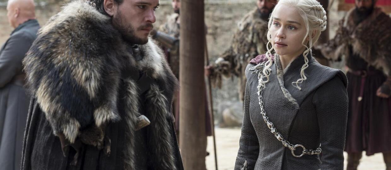 Gra o tron Jon i Daenerys