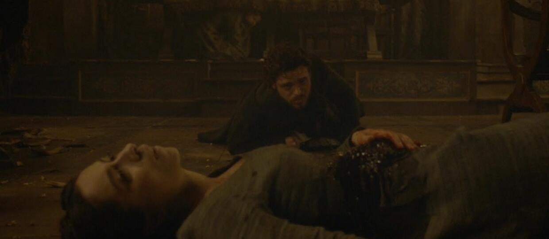 """Krwawe Gody, foto: kadr z 9. odcinka 3. sezonu """"Gry o tron"""""""