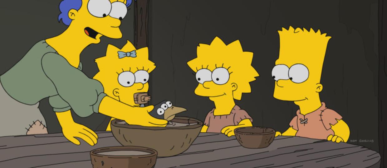 """Gra o tron"" sparodiowana w ""The Simpsons"""