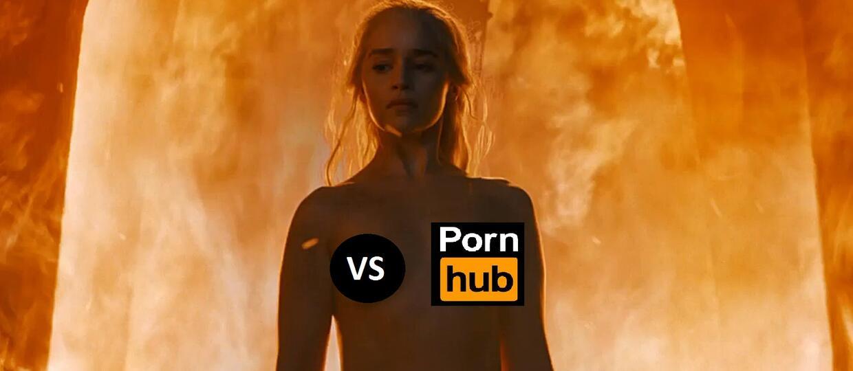"""""""Gra o tron"""" walczy z Pornhubem"""