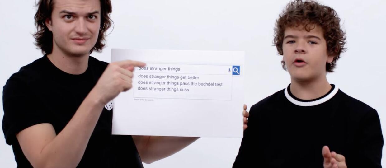 """Gwiazdy """"Stranger Things"""" odpowiadają na najczęściej wyszukiwane zapytania dotyczące serialu"""