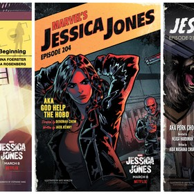 Jessica Jones okładki odcinków
