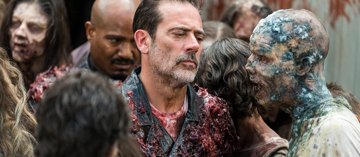 Jeffrey Dean Morgan jako Negan w The Walking Dead